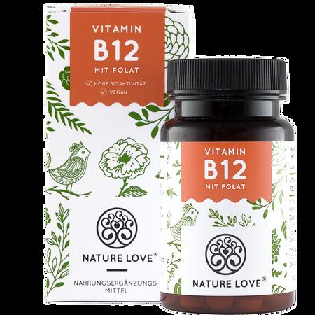 NATURE LOVE Vitamin B12 Tabletten