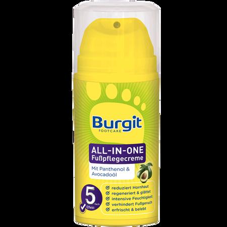Burgit Footcare All-In-One Fußpflegecreme