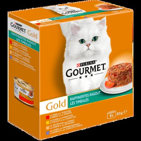 GOURMET Gold Raffiniertes Ragout Fleisch und Geflügel