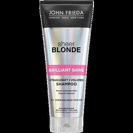 JOHN FRIEDA Sheer Blonde Brillant Shine Strahlkraft und Volumen Shampoo