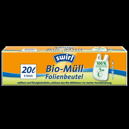swirl Bio-Müll Folienbeutel 20 Liter
