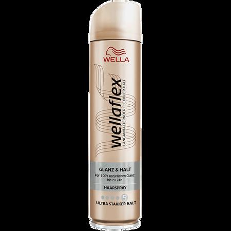 WELLA wellaflex Glanz & Halt Haarspray ultra starker Halt