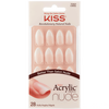 Bild: KISS Salon Acrylic French Nude Nails Sensibility