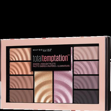 MAYBELLINE Total Temptation Eyeshadow & Highlighter Palette