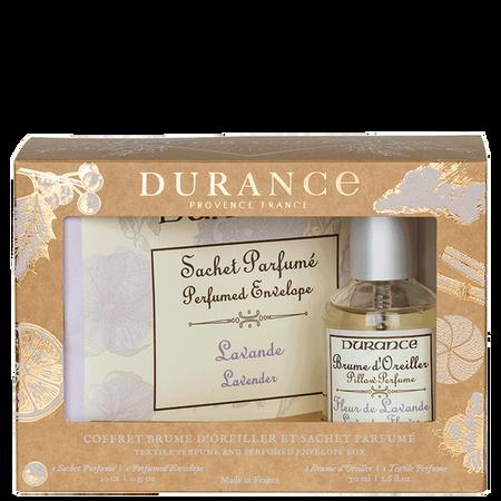 DURANCE Set Raumspray & Duftsäckchen Lavendel