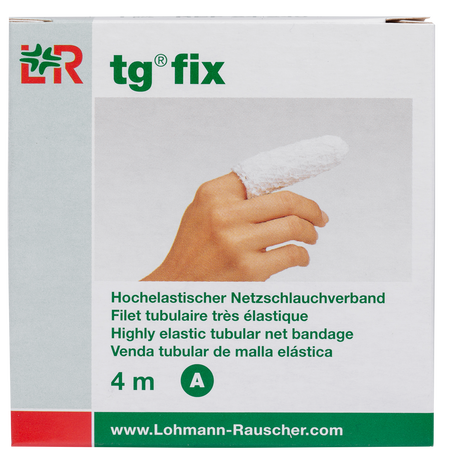 LOHMANN & RAUSCHER tg® fix Hochelastischer Netzschlauchverband 4 m Gr. A