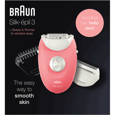 Braun Silk-épil 3 Legs & Body Ladyshaver