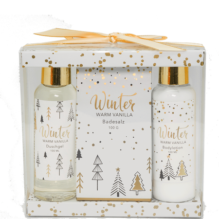 Soapland Winter Warm Vanilla Set