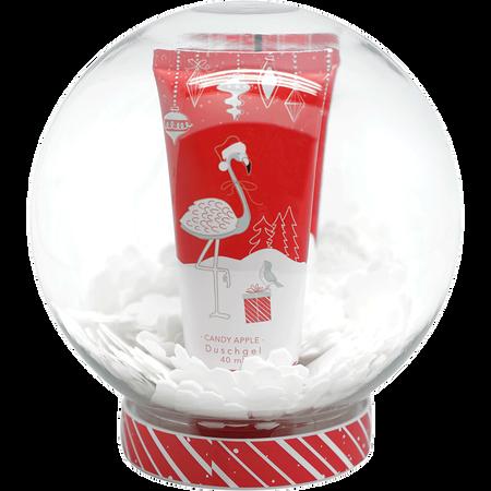 Soapland Set Flamingo Candy Apple Weihnachtskugel