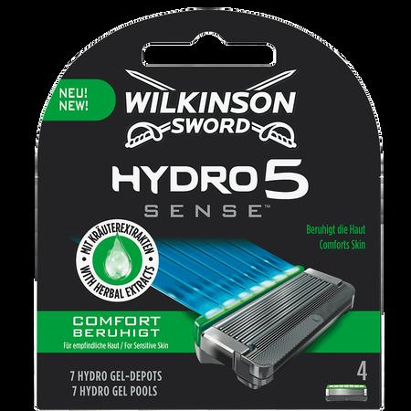 Wilkinson Hydro 5 Sense Comfort Klingen 4er