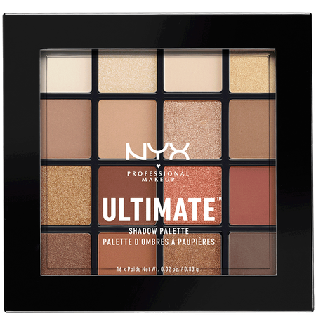 NYX Professional Make-up Ultimate Multi-Finisch Shadow Palette