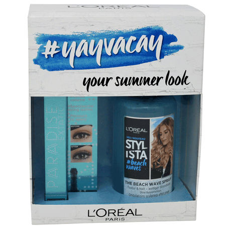 L'ORÉAL PARIS Coffret #yayvacay - your summer look