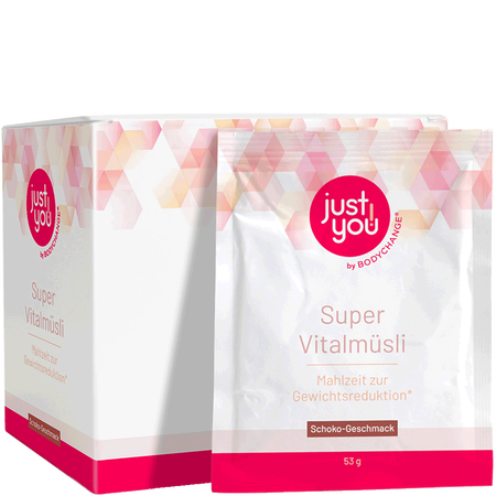 BODYCHANGE Just You Super Vitalmüsli Schoko
