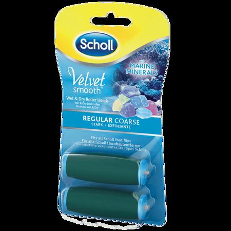 Scholl Velvet smooth Wet & Dry Ersatzrollen regular coarse