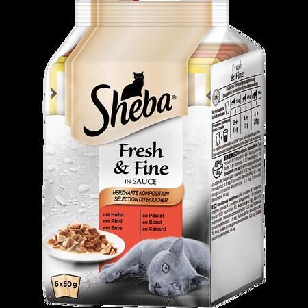 Sheba Fresh & Fine Herzhafte Komposition