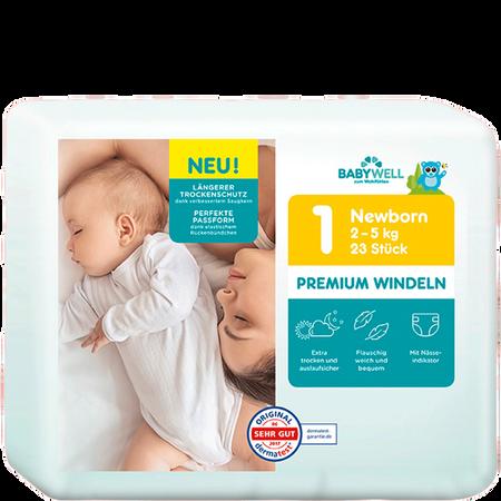 BABYWELL Premium Windeln Newborn