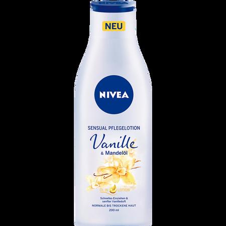 NIVEA Senusal Pflegelotion Vanille & Mandelöl