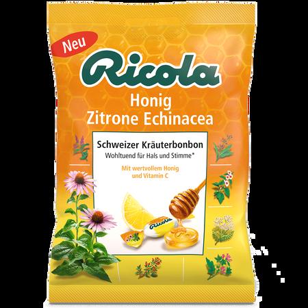 Ricola Honig Zitrone Echinacea Schweizer Kräuterbonbons