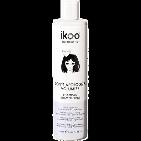 ikoo Shampoo Don't Apologize Volumize