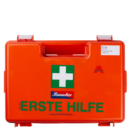 Rauscher Erste-Hilfe-Verbandkasten Typ 1 - Kunststoff