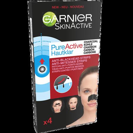 GARNIER SKIN ACTIVE PureActive Hautklar Anti-Mitesser Strips mit Kohle