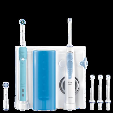 Oral-B WaterJet Reinigungssystem - Munddusche PRO 700 elektrische Zahnbürste