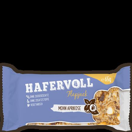 HAFERVOLL Flapjack Mohn Aprikose