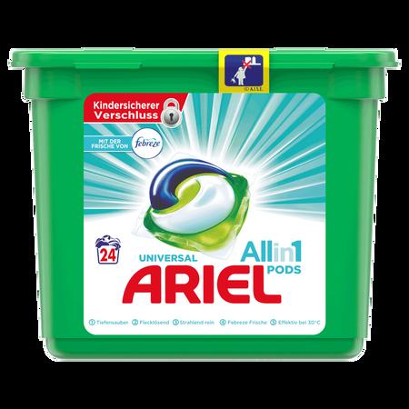 ARIEL All in 1 Pods Universal Vollwaschmittel mit Febreze