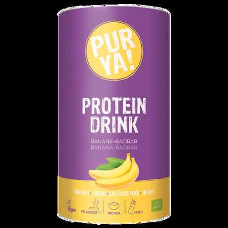 PURYA! Vegan Protein Drink Banane-Baobab