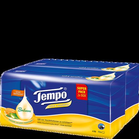 Tempo Taschentücher Plus Duo-Box