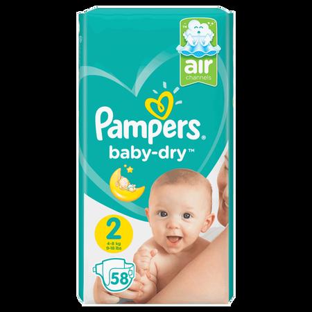 Pampers Baby-Dry Gr. 2 (4-8kg) Value Pack