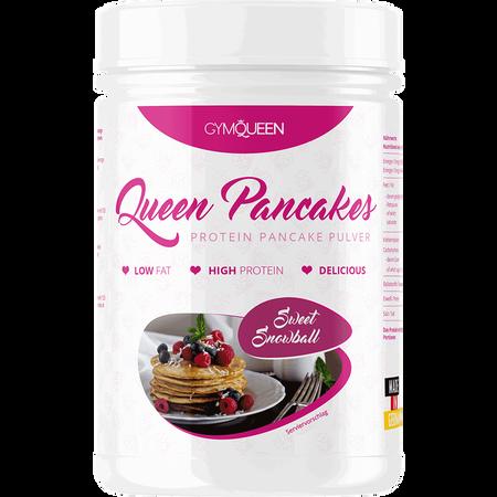 Bild: GYMQUEEN Queen Pancakes Protein Pancake Pulver Sweet Snowball  GYMQUEEN Queen Pancakes Protein Pancake Pulver Sweet Snowball