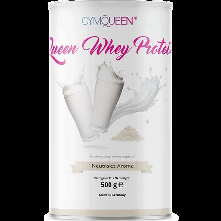 GYMQUEEN Queen Whey Protein Neutrales Aroma