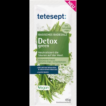 tetesept: Basisches Badesalz Detox green