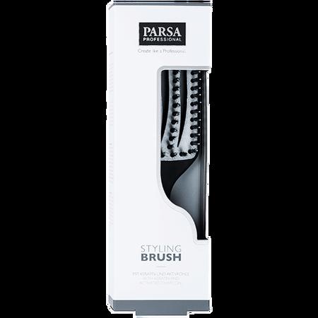 Parsa Styling Brush mit Keratin und Aktivkohle