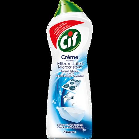 Cif Crème mit Mikrokristallen