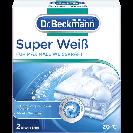 Dr. Beckmann Super Weiß Mitwaschbeutel