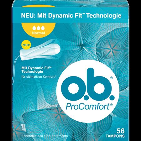 o.b. ProComfort Tampons normal