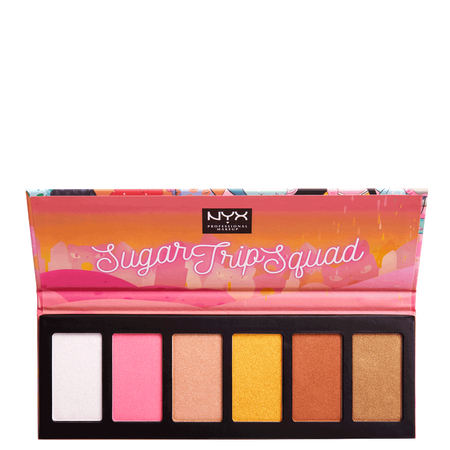 NYX Professional Make-up Sugar Trip Squad Highlighting Palette