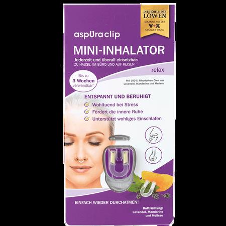 aspUraclip Mini-Inhalator relax