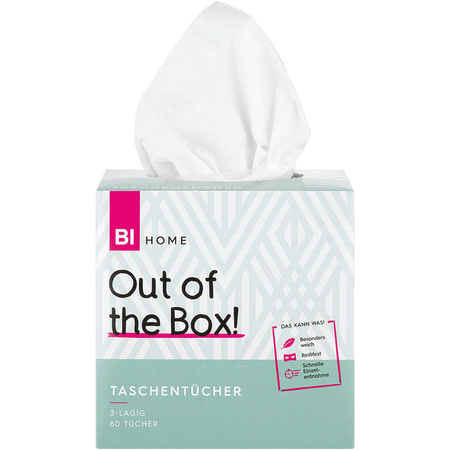 BI HOME Taschentücher Box