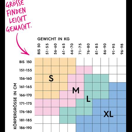 BI STYLED Strumpfhose Laufmaschenstopp 20 DEN