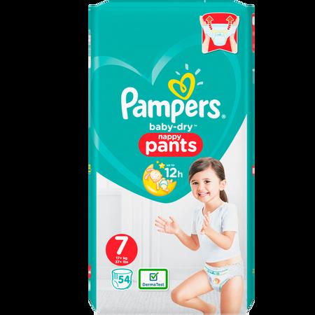 Pampers Baby-Dry Pants Gr.7 (17+kg) Jumbo+ Pack