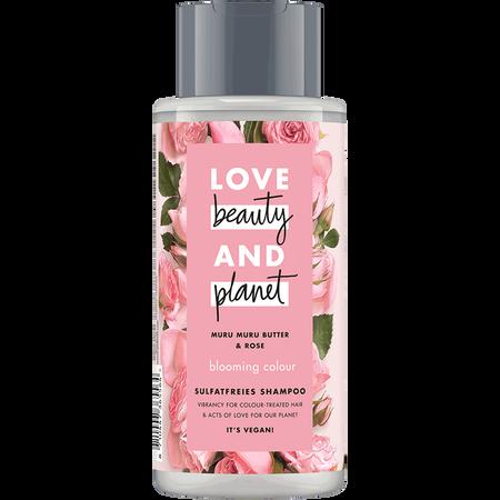 Love Beauty &  Planet Blooming Colour Shampoo Murumuru Butter & Rose