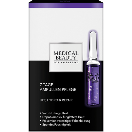 MEDICAL BEAUTY for Cosmetics 7 Tage Ampullen Pflege