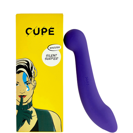 CUPE Silent Surfer Dildo Power Lila