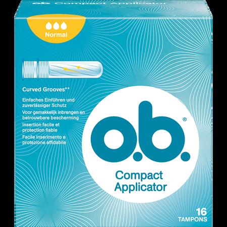 o.b. Compact Applicator Normal