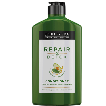 JOHN FRIEDA Repair & Detox Conditioner Avocado-Öl + Grüner Tee