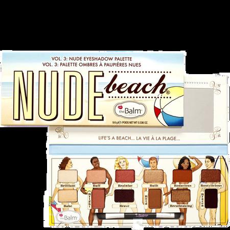 theBalm Nude beach Lidschatten