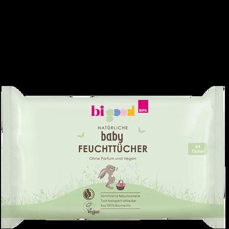 bi good Natürliche baby Feuchttücher